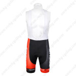 2012 Team FOCUS Cycling Bib Shorts Black Red