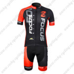 2012 Team FOCUS Cycling Kit Black Red