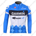 2012 Team GARMIN Cycling Long Sleeve Jersey