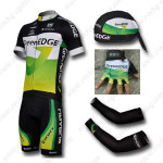 2012 Team GreenEDGE Cycling Set Jersey and Shorts+Bandana+Gloves+Arm Sleeves