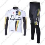 2012 Team HTC Highroad Cycling Long Sleeve Kit2012 Team HTC Highroad Cycling Long Sleeve Kit