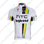 2012 Team HTC highroad Cycling Maillot Jersey Shirt White