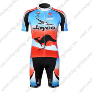 2012 Team JAYCO Cycling Kit Blue Red