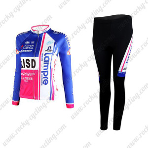 2012 Team LAMPRE ISD Women's Cycle Kit Long Sleeve
