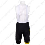 2012 Team LIVESTRONG Cycling Bib Shorts Black