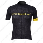 2012 Team LIVESTRONG Cycling Jersey Black