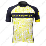 2012 Team LIVESTRONG Cycling Jersey Yellow
