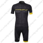 2012 Team LIVESTRONG Cycling Kit Black