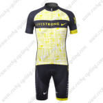 2012 Team LIVESTRONG Cycling Kit Yellow Black