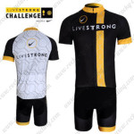 2012 Team LIVESTRONG Riding Kit Black Yellow