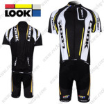 2012 Team LOOK Cycling Kit Black White