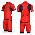2012 Team LOOK Cycling Kit Red