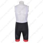 2012 Team NALINI Cycling Bib Shorts Black Red