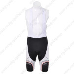 2012 Team NW Cycling Bib Shorts White