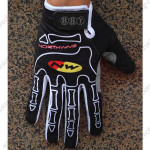 2012 Team NW NORTHWAVE Winter Cycling Thermal Fleece Gloves Black