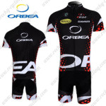2012 Team ORBEA Cycling Kit Black Red