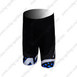 2012 Team ORBEA Cycling Shorts Bottoms Black Blue