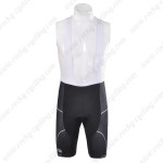 2012 Team PINARELLO Cycling Bib Shorts Black