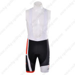 2012 Team PINARELLO Cycling Bib Shorts Red Black