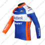 2012 Team Rabobank Cycle Long Sleeve Jersey Blue