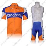 2012 Team Rabobank Cycling Bib Kit Orange