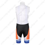 2012 Team Rabobank Cycling Bib Shorts Blue
