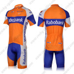 2012 Team Rabobank Cycling Kit Orange