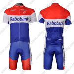 2012 Team Rabobank Cycling Kit Red Blue