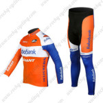2012 Team Rabobank Pro Cycling Long Kit Orange