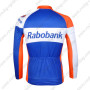 2012 Team Rabobank Riding Long Sleeve Jersey Blue