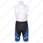 2012 Team SAXO BANK Cycling Bib Shorts Blue