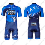 2012 Team SAXO BANK Cycling Skinsuit