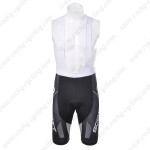 2012 Team SCOTT Cycling Bib Shorts Grey White