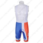 2012 Team SKY Cycling Bib Shorts Orange Blue