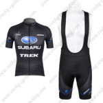 2012 Team SUBARU Cycling Bib Kit Black