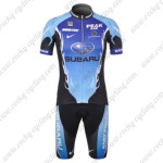 2012 Team SUBARU Cycling Kit Blue Black