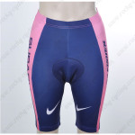 2012 Team SUBARU Women Cycling Shorts Pink Blue