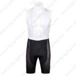 2012 Team Santini Cycling Bib Shorts White Black2012 Team Santini Cycling Bib Shorts White Black