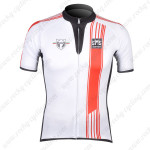 2012 Team Santini Cycling Jersey White Red