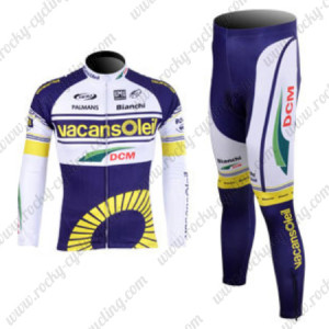 2012 Team Vacansoleil Pro Cycling Long Kit