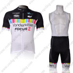 2012 Team Vanderkitten Women's Cycling Bib Kit
