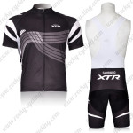 2012 Team XTR Cycling Bib Kit Black