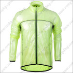 2013 Pro Cycling Windbreaker Green Waterproof