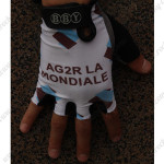 2013 Team AG2R LA MONDIALE Cycling Gloves Mitts