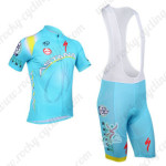 2013 Team ASTANA Cycling Bib Kit
