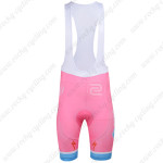2013 Team ASTANA Cycling Bib Shorts Pink