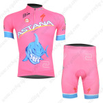 2013 Team ASTANA Cycling Kit Pink