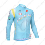 2013 Team ASTANA Pro Cycling Long Sleeve Jersey