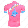 2013 Team ASTANA Riding Jersey Pink