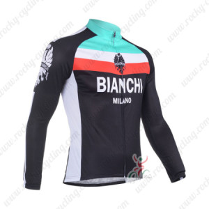 2013 Team BIANCHI Cycle Jersey Long Sleeve